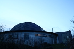 Kuppeldach des Planetariums Kreuzlingen